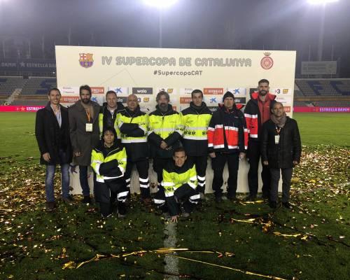 Cardiosos, responsable del dispositiu mèdic a la final de la copa Catalunya