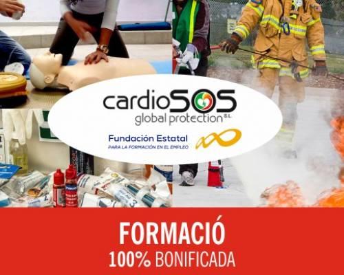 Cardiosos forma en extinció d'incendis, als equips de primera intervenció (EPI) i segona intervenció (ESI)
