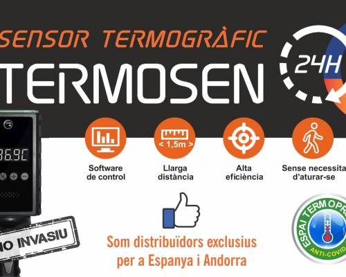Sensor Termogràfic Termosen 24H